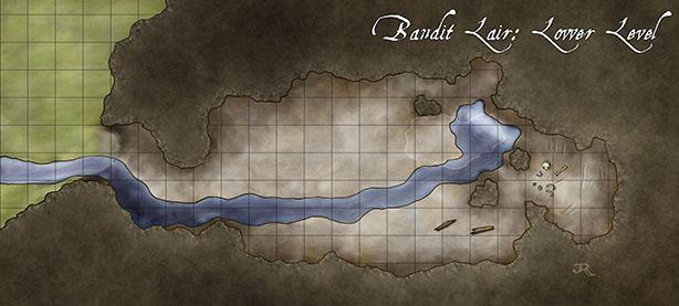 The Bandit S Lair Fantastic Maps