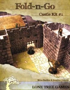 Cover for the fantasy papercraft model kit