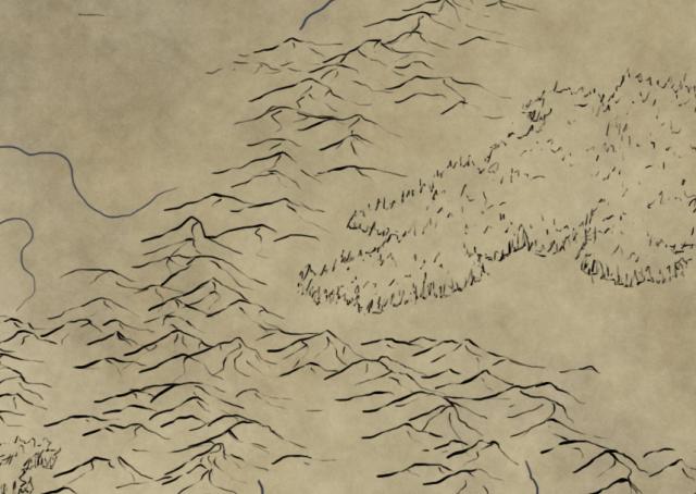 Line art for the stormpunk fantasy pathfinder world of Rhune: Dawn of Twilight