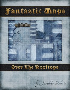 Over the Rooftops fantasy city map pack for d&d and pathfinder