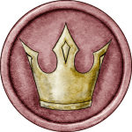 Red King Token for Great Hunt Game