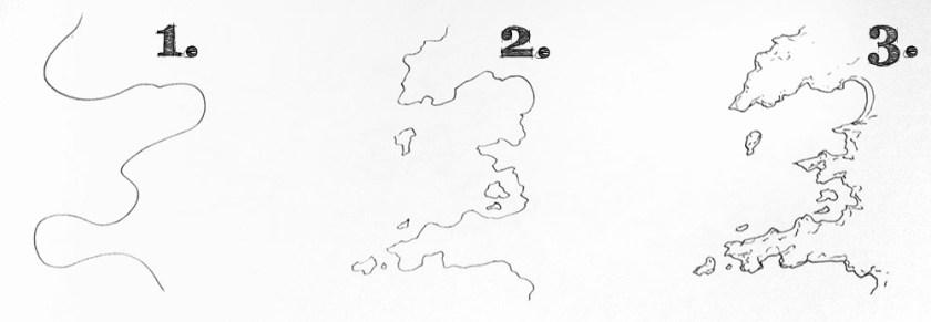 How to draw realistic coastlines