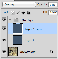 The Layer Stack - Colour and Overlay  Layers