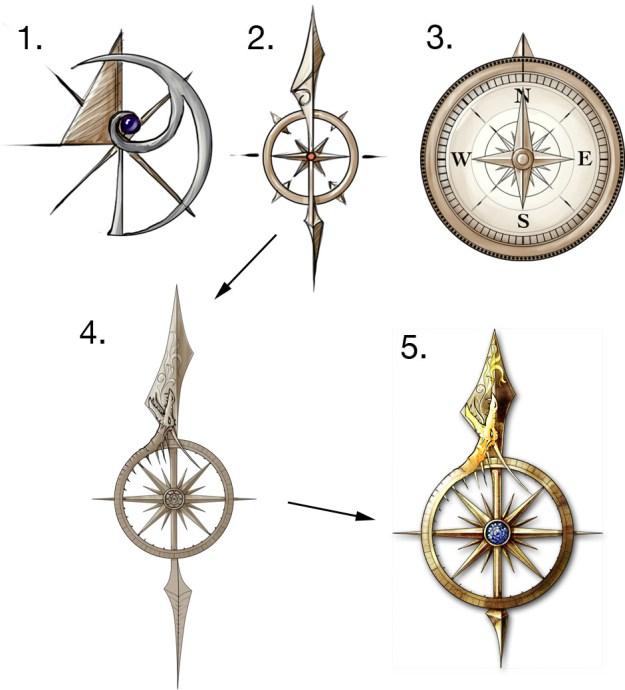 Designs for the Midgard atlas app for Kobold Press