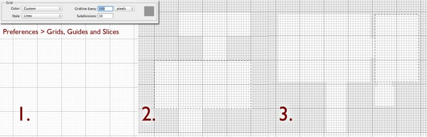 Grids in Photoshop Tutorial
