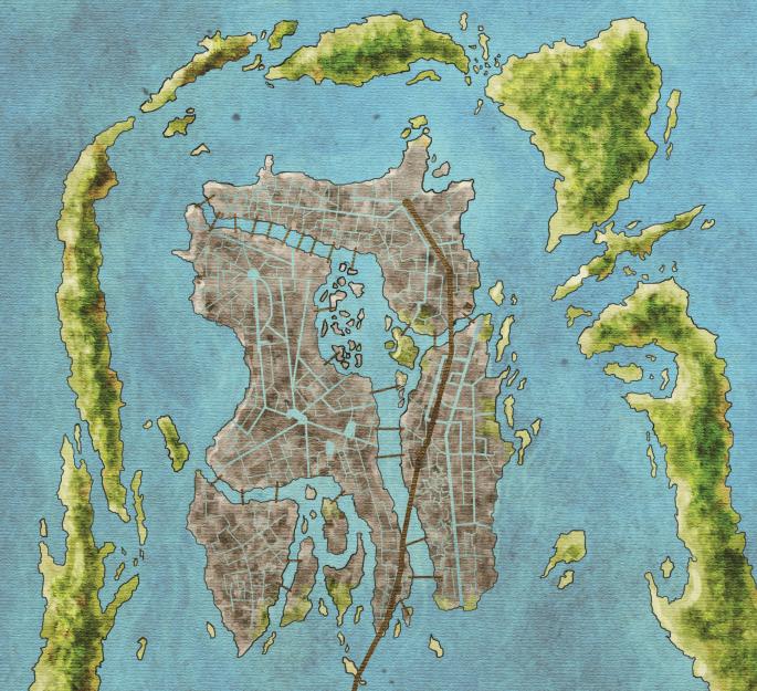 Mapa de Braavos