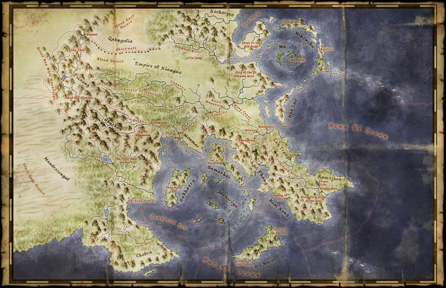 Lands of the Jade Oath map