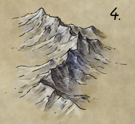 how to draw a fantasy map by hand