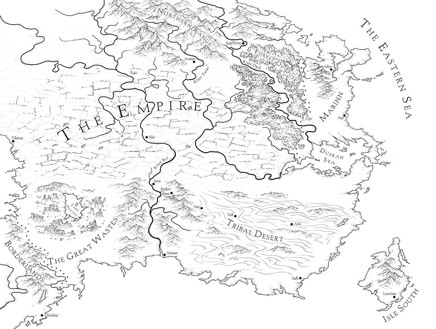 Line Art Map : Mapping an ember in the ashes fantastic maps