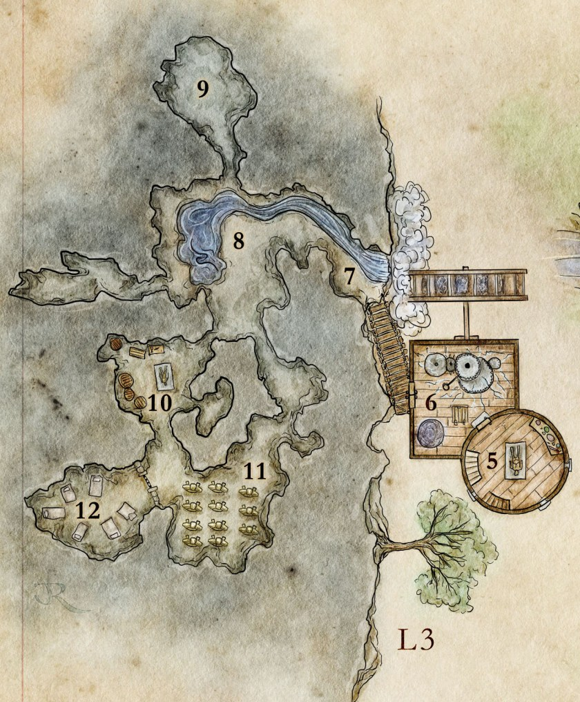 The Hidden Caves Of The Arcanist