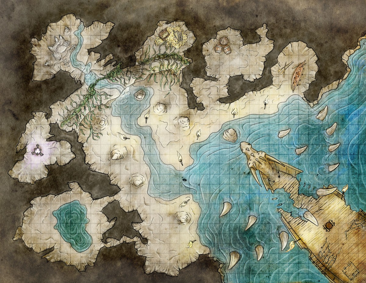Map of a Pirate's Lair