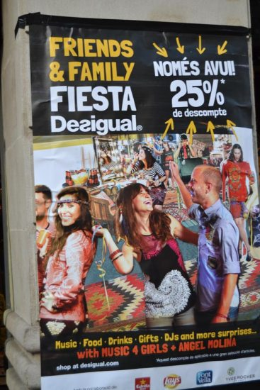 Desigual Friends & Family poster