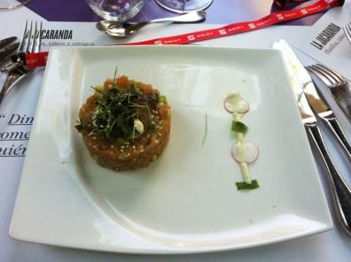 El delicioso ceviche que nos comimos en el restaurante Las Dos Torres #080seatday