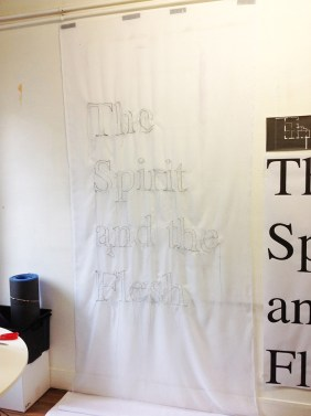 """The Spirit And The Flesh"" de Michael Roy @ Espai Tactel"