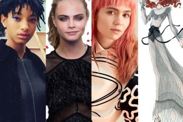 Willow Smith, Cara Delevigne, Grimes, Florence & The Machine