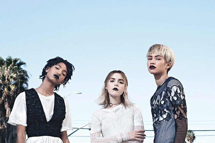 Willow Smith, Zendaya y Kiernan Shipka