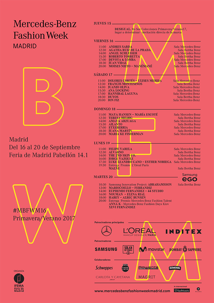 64 Mercedes-Benz Fashion Week Madrid