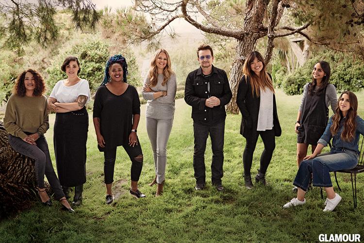 Bono @ Glamour