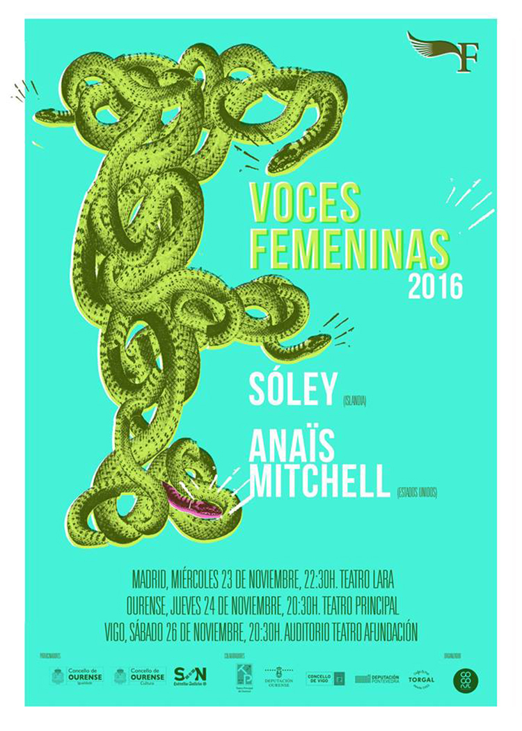 Voces Femeninas (cartel)