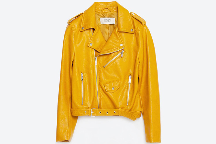 La chaqueta amarilla del Zara