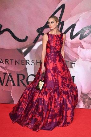 Laura Bailey @ Fashion Awards 2016