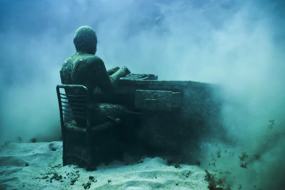 Underwater Sculptures de Jason deCaires Taylor