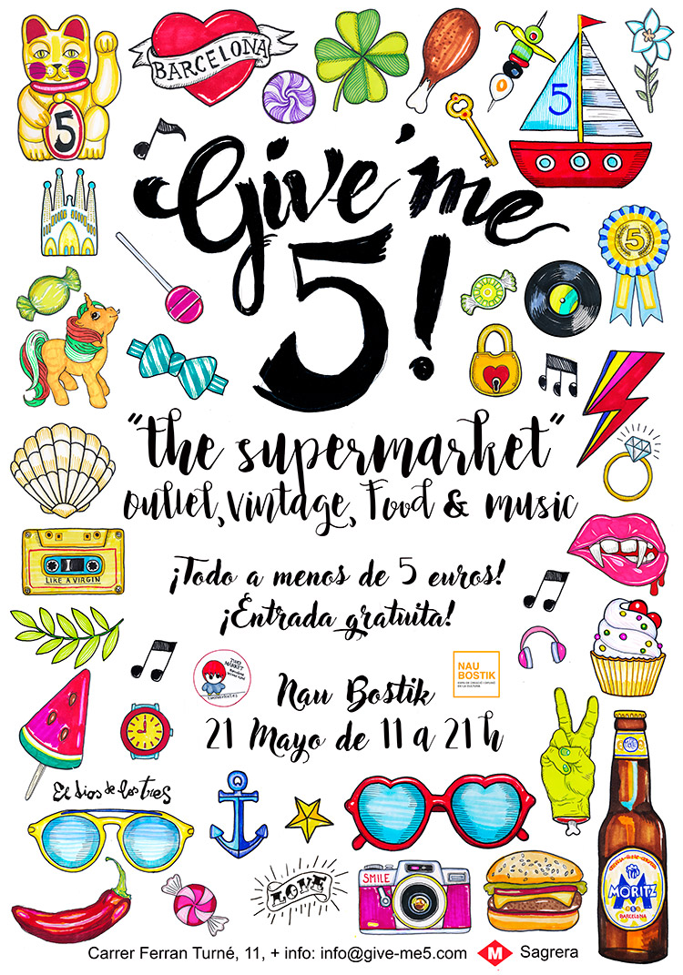Give' me 5! (cartel)
