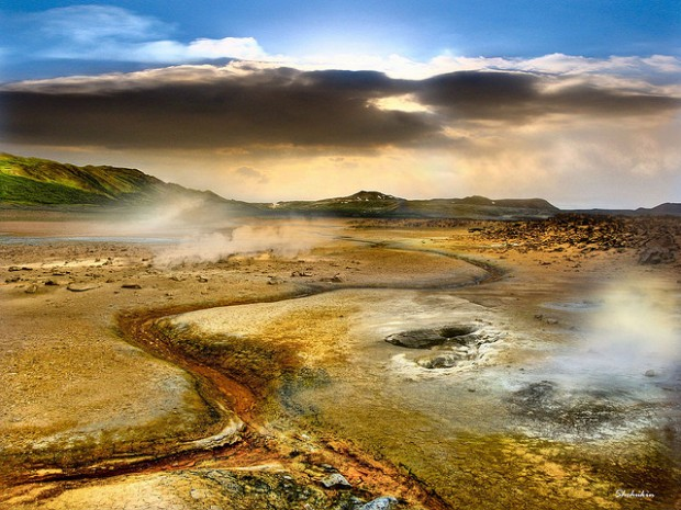 Hverir Geothermal Region North East Iceland 15 Beautiful Places and Landscapes of our Wonderful World