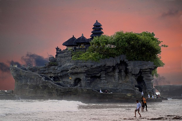 Uluwatu Temple and Tanah Lot Temple 15 Beautiful Places and Landscapes of our Wonderful World