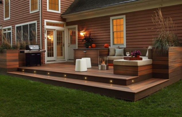 18 Impeccable Deck Design Ideas For The Patio That Add ... on Add On Patio Ideas  id=56102