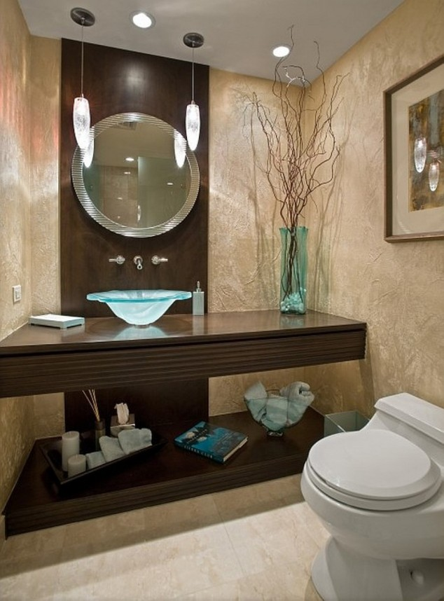 Turn Your Small Bathroom Big On Style With These 15 Modern ... on Modern:kkgewzoz5M4= Small Bathroom  id=41044