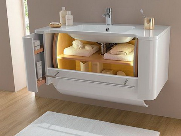 My Favorite Bathroom Interiors And Ideas - Drawer Underneath The Sink