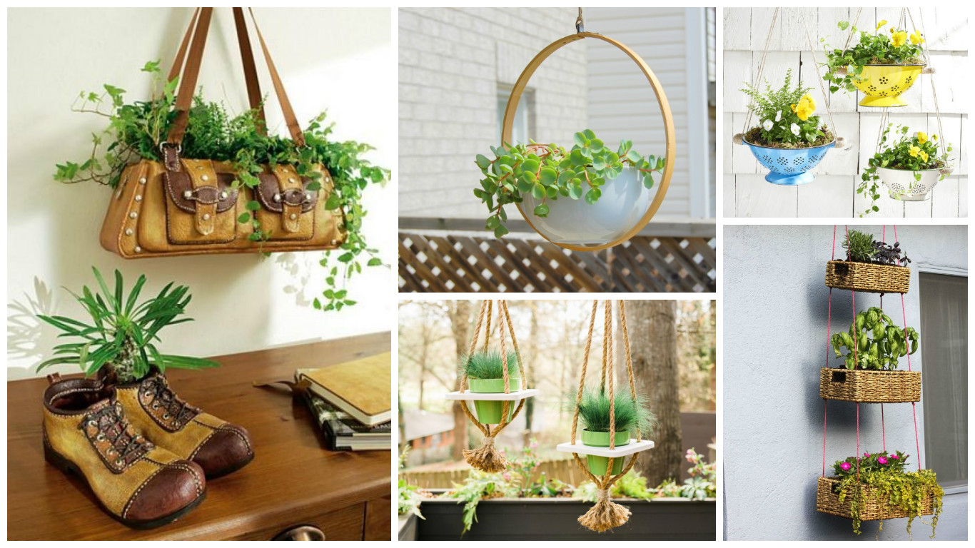 12 Excellent DIY Hanging Planter Ideas For Indoors And ... on Hanging Plant Pots Indoor  id=97340