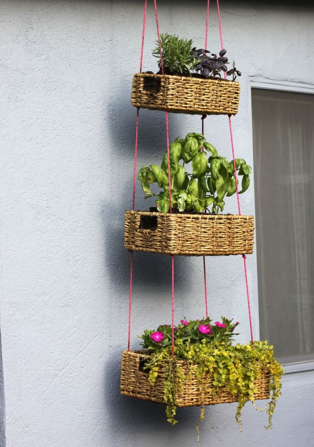 12 Excellent DIY Hanging Planter Ideas For Indoors And ... on Hanging Plant Stand Ideas  id=35350