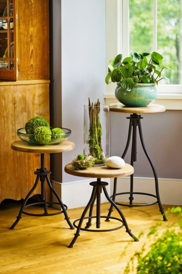 12 Lovely Plant Stands That Are Perfect To Display Your ... on House Plant Stand Ideas  id=49289