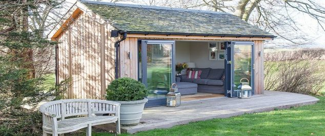 Garden Room 634x266 13 Practical Open And Closed Garden Rooms That Are Pretty For Looking In