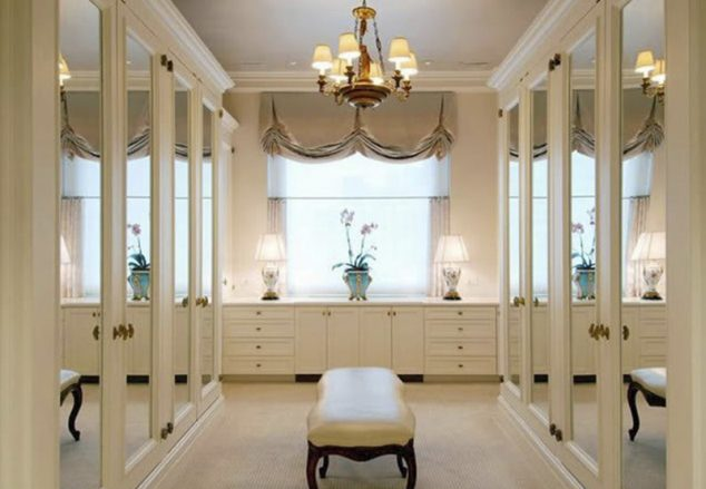 closet espelhado 634x439 12 Glamorous Dressing Room Closet Ideas For The Ladies