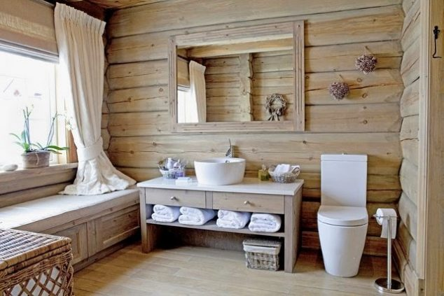 16+ French Country Style Bathroom Ideas That You Can't ... on Rural Bathroom  id=44956