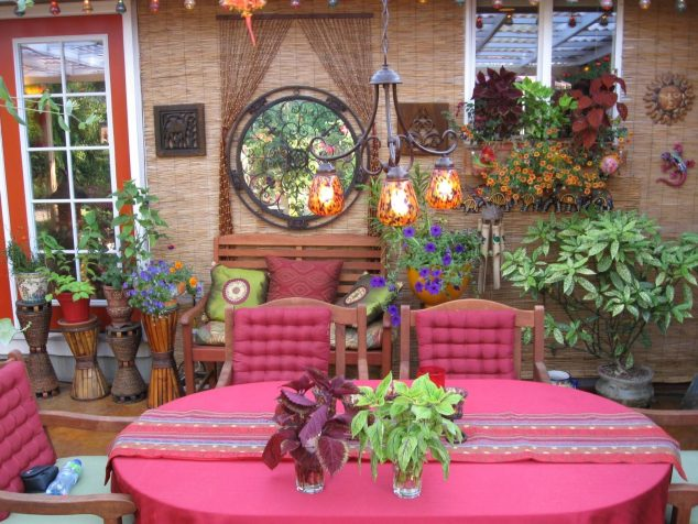 13 Colorful And Youthful Patio Decorating Ideas That Will ... on Mexican Patio Ideas  id=88096