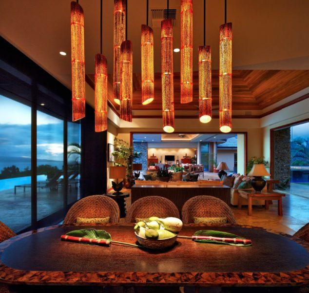 algunos consejos para comedor lighting3 634x600 16 Árbol de bambú decoraciones para la decoración del hogar de Thar son a la vez encantador y funcional