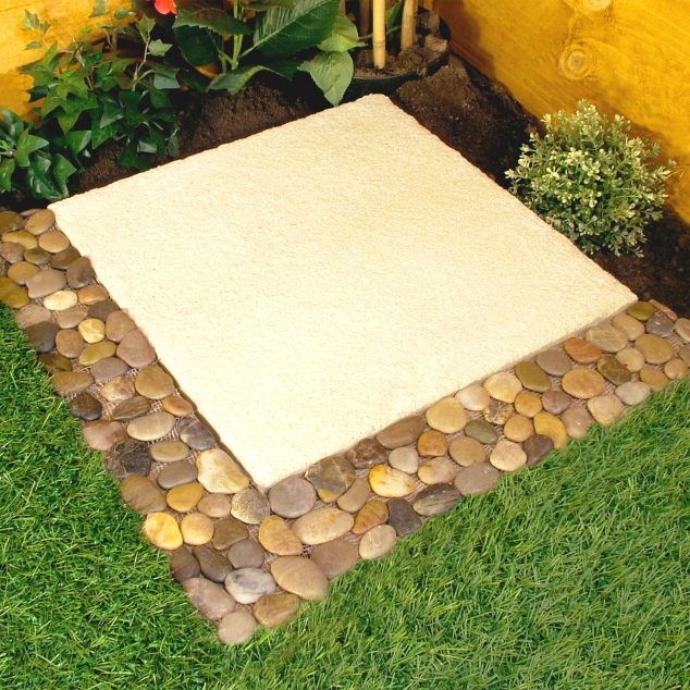 Faux Home Depot Edging Stones