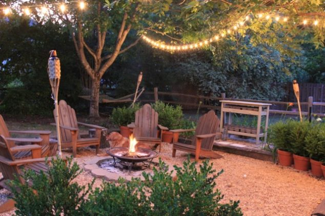 10+ Urban DIY Backyard and Patio Lighting Ideas on Budget Patio Ideas  id=86774