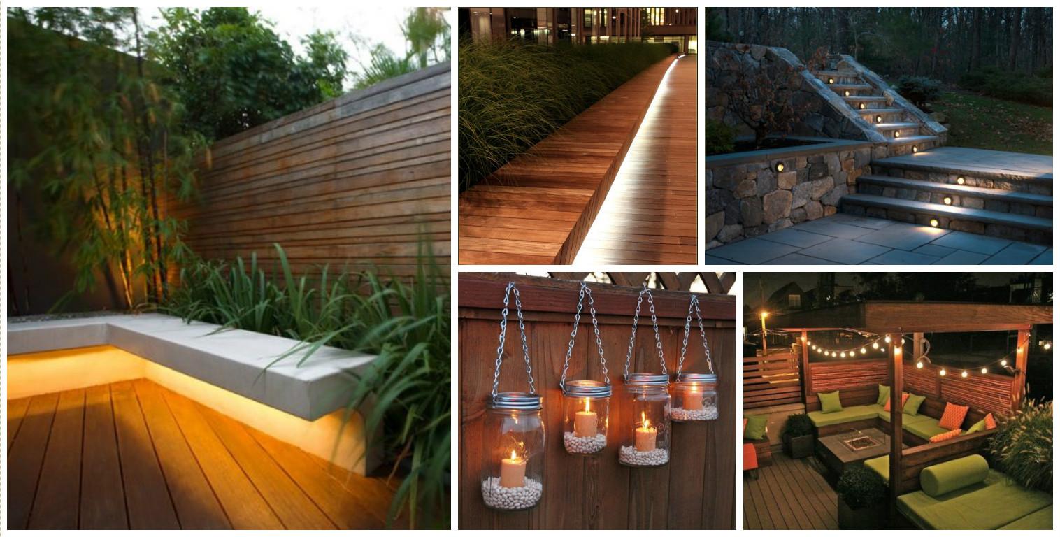 10+ Urban DIY Backyard and Patio Lighting Ideas on Diy Small Patio Ideas id=12078