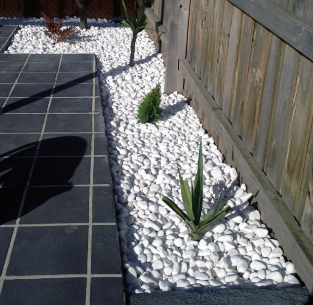 15 Ideas for White Sensation in Garden Landscaping With ...