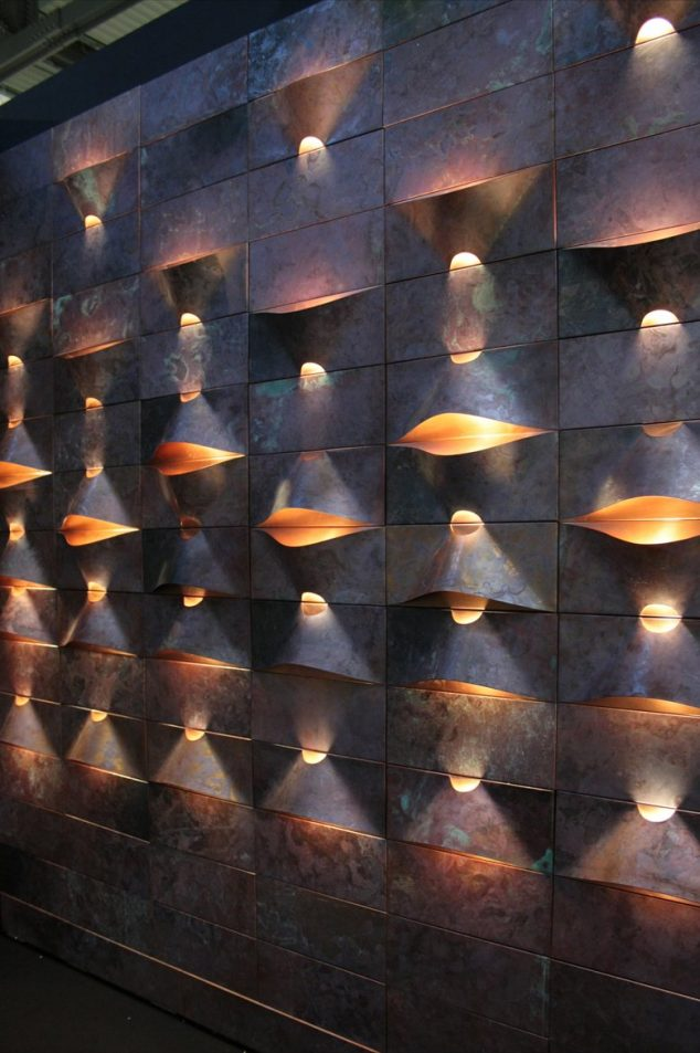 b 730 3be5947603854067800f940b984cfb21 634x953 15 Impressive Wall Lamp Design to Bless the Walls in The Living Place