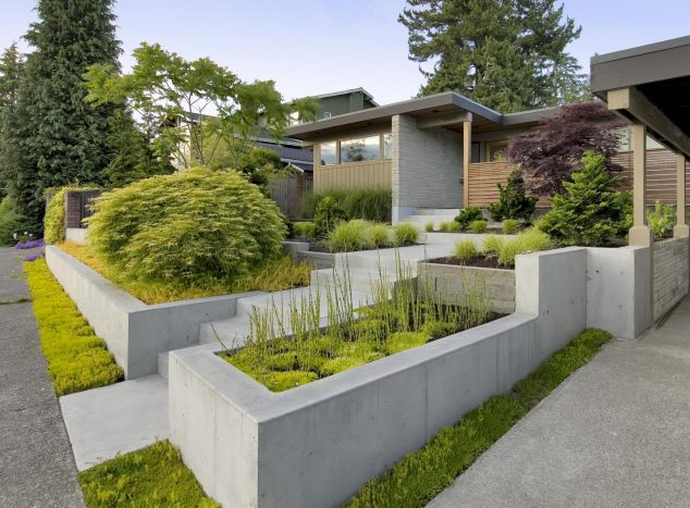 19 Dramatic Terraced Planter Ideas For Creating ... on Terraced Front Yard Ideas id=46600