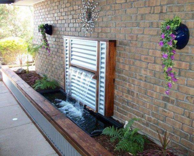 15 Exclusive Backyard Waterfall Fountain You Would Like to ... on Backyard Feature Walls  id=48164