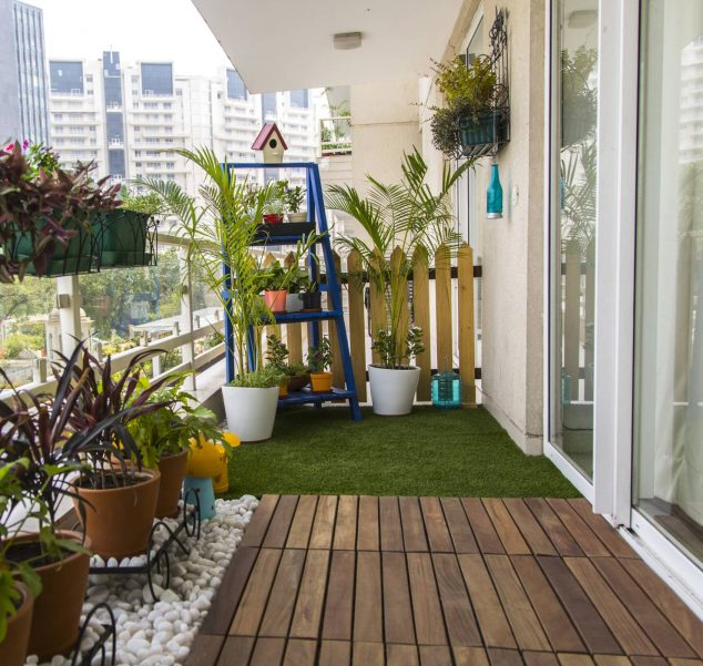 15 smart balcony garden ideas that are awesome on Artificial Garden For Balcony id=21595