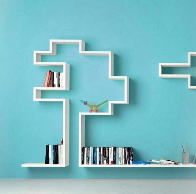 Modern Bookshelves That Will Drive You Crazy