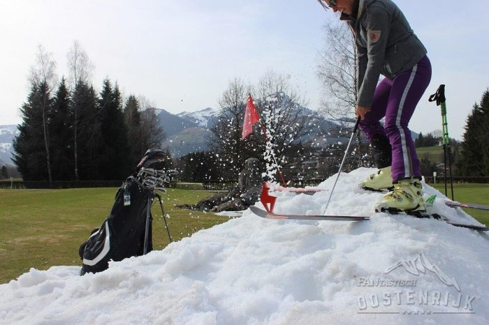 Golf en ski